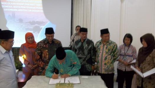 Wapres Kalla: Masjid di Indonesia Memiliki Kekhasan Arsitektur