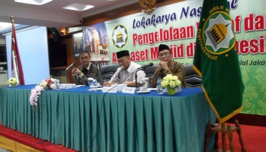 PP DMI Hadirkan Sejumlah Pakar Dalam Lokakarya Waqaf (2)