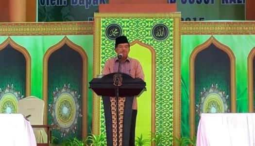 Wapres JK Resmikan Sembilan Masjid di Bintan, Kepri