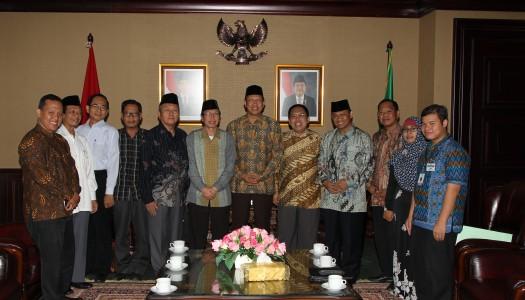Selenggarakan Lokakarya Wakaf, DMI Temui Menteri Agama