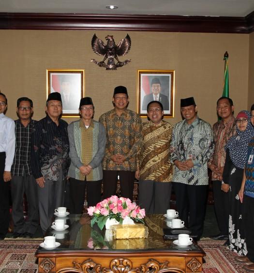 www.dmi.or.id/ Pantia Lokakarya Wakaf dan Pengelolaan Aset-Aset Masjid bersama Menteri Agama RI, Lukman Hakim Saifuddin