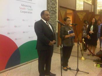 RI Pererat Hubungan Diplomatik dengan Negara-Negara Oceania