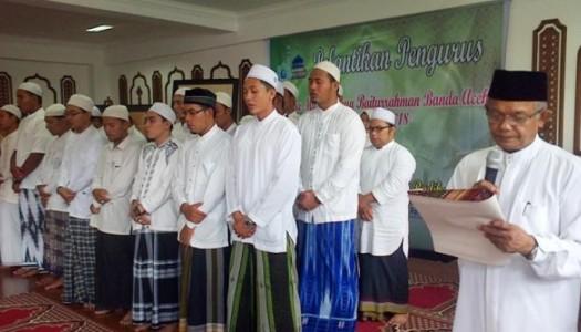 Imam Besar Lantik Remaja Masjid Raya Baiturrahman