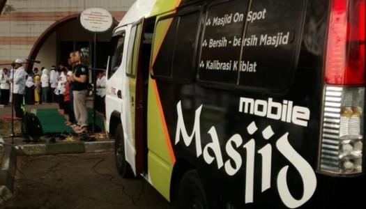 Inilah 'Mobile Masjid' Karya Yayasan Masjid Nusantara