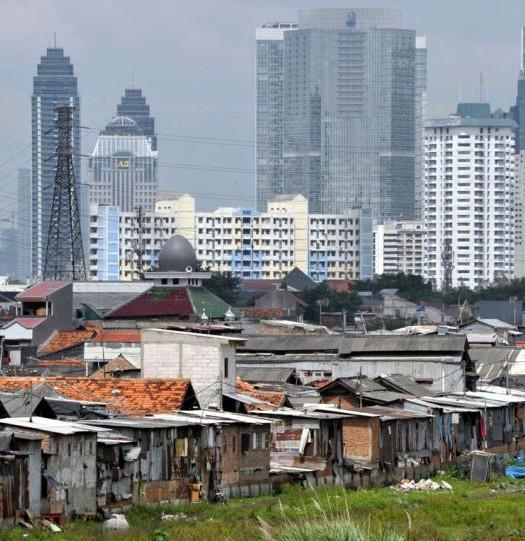 Sumber: http://sp.beritasatu.com / Kesenjangan sosial ekonomi di Jakarta
