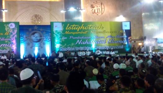 25.000 Jama'ah NU Hadiri Istighotsah di Masjid Istiqlal