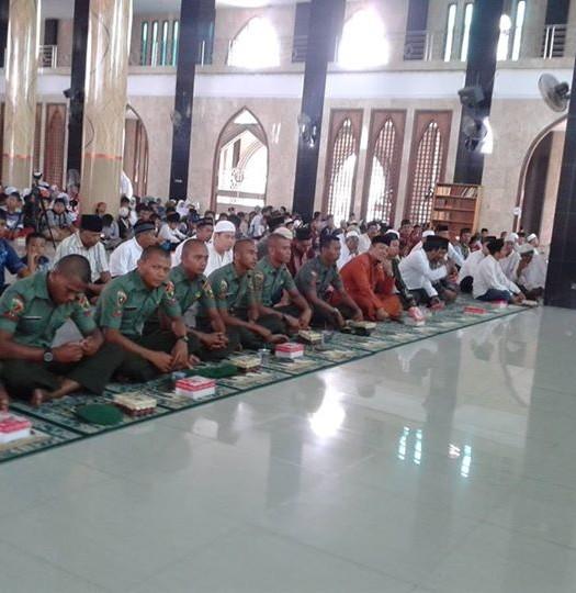Sumber: www.nabirekab.go.id / Suasana Peringatan Tahun Baru Islam 1 Muharram 1436 H di Masjid Agung Al Falah, Nabire
