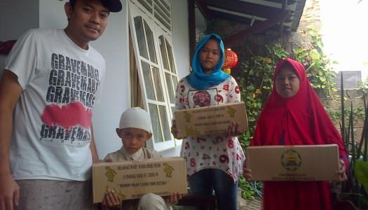 Warga Tangerang Terima 150 Paket Lebaran Wapres Kalla