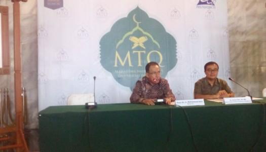 Rektor UI: MTQMN XIV Sebagai Revolusi Mental Menuju Masyarakat Madani