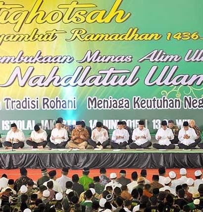 Sumber: www.mediaindonesia.com / Pra Munas Alim Ulama NU di Masjid Istiqlal