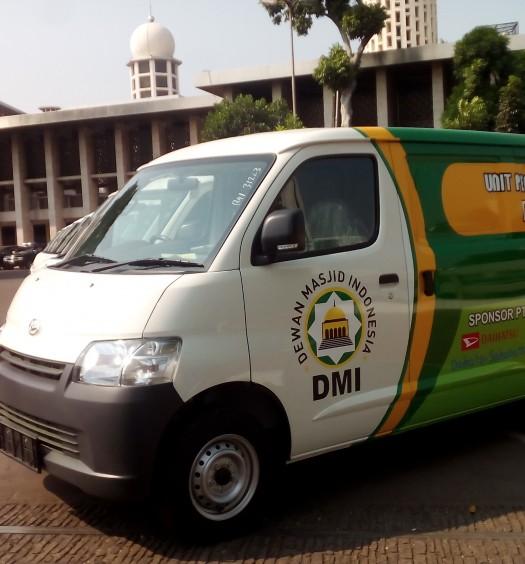 Sumber: www.dmi.or.id / Mobil Akustik DMI di Masjid Istiqlal, Jakarta