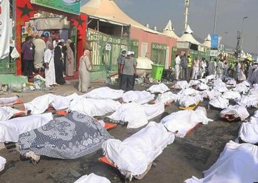 Sumber: Arab News/ Tragedi Mina