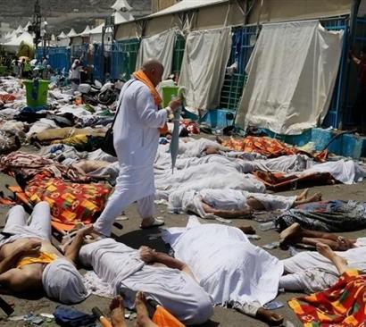 Sumber: Associated Press (AP) / Tragedi Mina, Saudi Arabia, Kamis (24/9)
