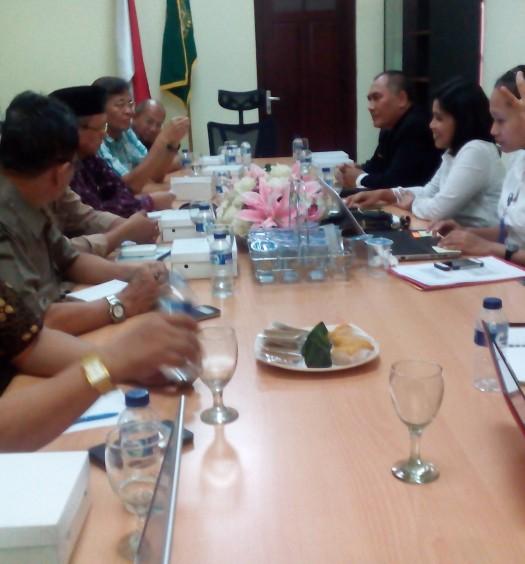 Sumber: www.dmi.or.id / Pertemuan DMI dan BNN pada Senin (19/10).