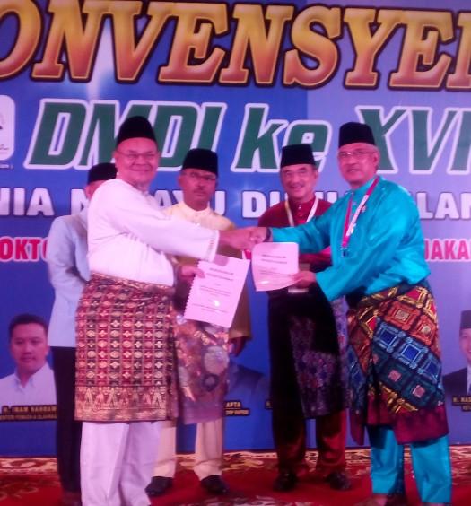 Sumber: www.dmi.or.id / Pertukaran MoU antara PW DMI Riau dengan GKM Malaysia di Jakarta, Selasa (27/10)