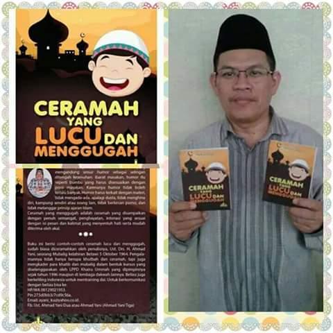 Sumber: www.dmi.or.id / Ustadz Drs. H. Ahmad Yani