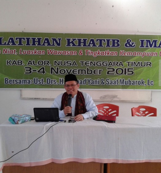 Sumber: Ustadz Drs. H. Ahmad Yani