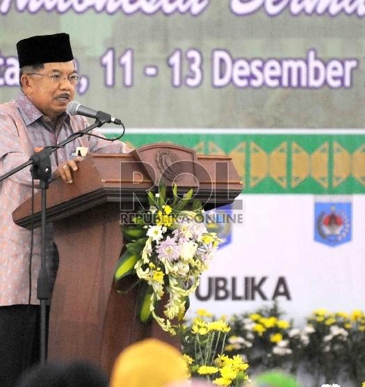 Sumber: www.republika.co.id / Wapres Jusuf Kalla Buka Muktamar VI ICMI