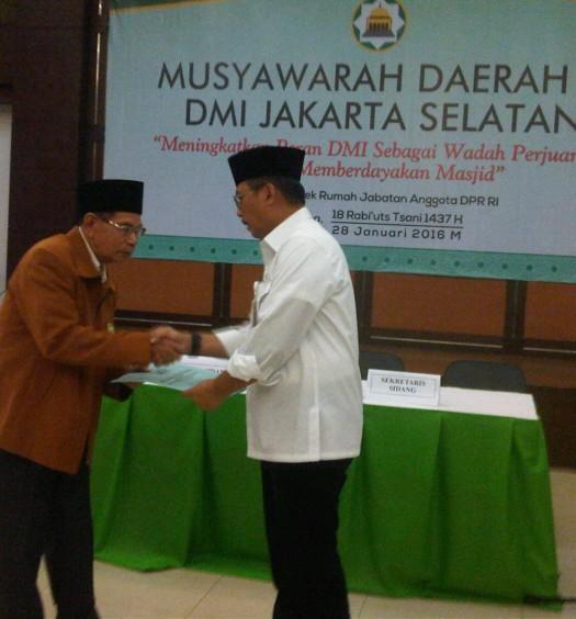Sumber: www.dmi.or.id / Wali Kota Jaksel, H. Tri Kurniadi, S.H., M.Si.