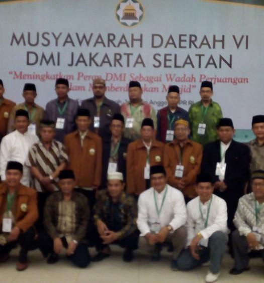 Sumber: www.dmi.or.id / Musda VI PD DMI KOta Administrasi Jakarta Selatan.