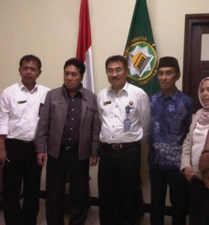 Sumber: www.dmi.or.id / Pertemuan BNN dan DMI, Senin (1/2) siang