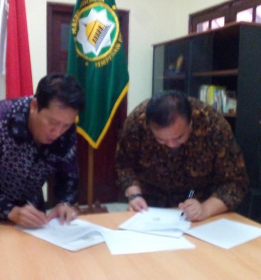 Sumber: www.dmi.or.id / Penandatanganan Nota Kesepahaman Antara DMI dan Ninmedia Indonesia