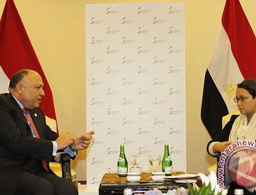 Sumber: www.antaranews.com / Pertemuan Bilateral antara Menlu RI dengan Menlu Mesir ditengah-tengah KTT OKI LB V