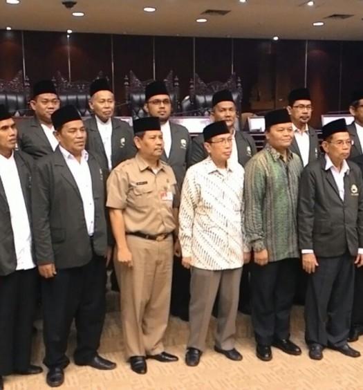 Sumber: DMI Kota Jakarta Selatan / Rahadi Mulyanto  Pelantikan Pengurus PD DMI Kota Administrasi Jaksel, Selasa (29/3) pagi. di Gedung Nusantara V MPR RI
