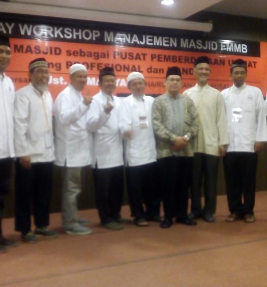 Sumber: www.dmi.or.id / Workshop Manajemen Masjid Forum Masjid dan Musholla BSD City (FMMB), pada Ahad (21/2).