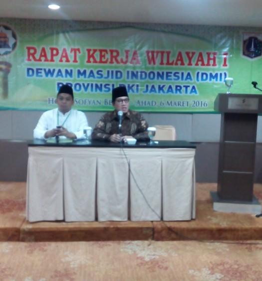 Sumber: www.dmi.or.id / Rakerwil I PW DMI Provinsi DKI Jakarta, Ahad (6/3), di Hotel Sofyan Betawi, jakarta.