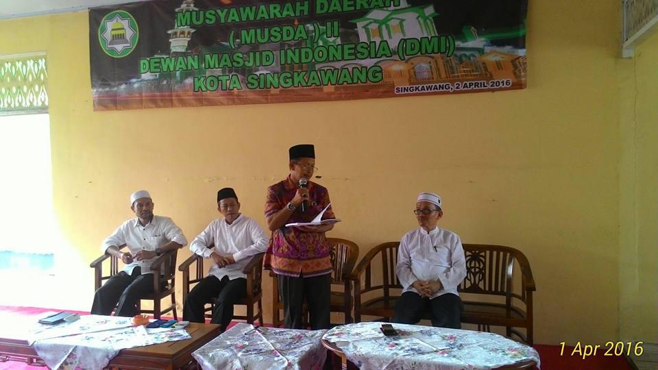 Sumber: PD DMI Kota Singkawang.  Musda II DMI Kota Singkawang, Kalbar, pada Sabtu (2/4).