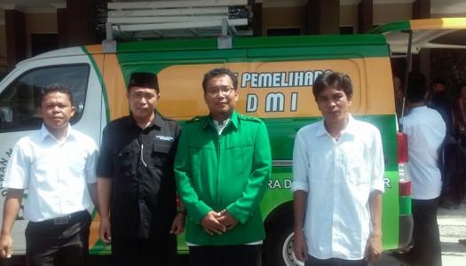 DMI Kota Lubuk Linggau Terima Kendaraan Akustik Masjid
