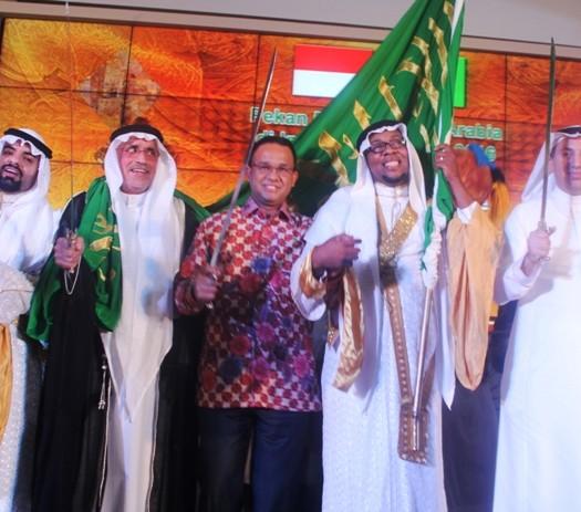 Sumber: www.mirajnews.com / Pekan Budaya Saudi Arabia di Indonesia, Sabtu 926/3) malam, di Museum Nasional, Jakarta.