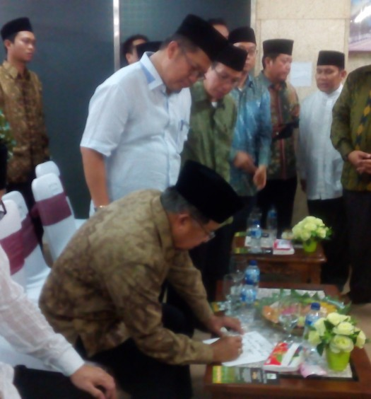 Peresmian Program-Progrm DMI oleh Wapres Jusuf Kalla, Sabtu (28/5) di Masjid Istiqlal, Jakarta. Sumber: www.dmi.or.id