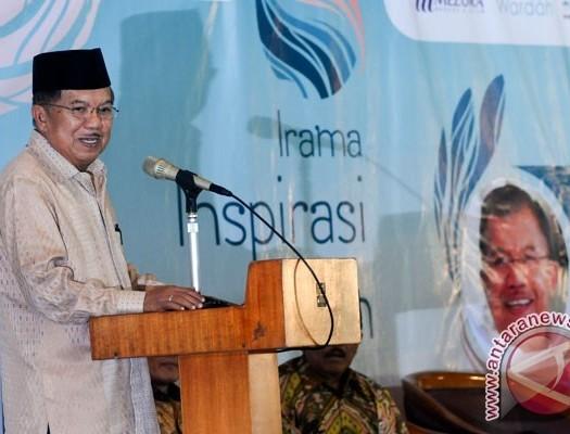 Sumber: www.antarajabar.com  Wapres Muhamamd Jusuf Kalla berikan Taushiyah dan Inspirasi Ramadhan di Masjid Salman ITB, Ahad (19/6).