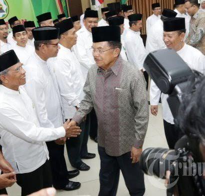 Pelantikan PW DMI Sulsel Masa Bati 2016-2021 pada Selasa (26/7) di Makassar, Sulsel, oleh Wapres Muhammad Jusuf Kalla.  Sumber: http://makassar.tribunnews.com/