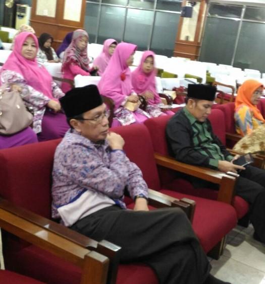 """Sumber: PP DMI / Rosemini  """"Lokakarya Muballigh dan Muballighah Sebagai Agen Perubahan Informatika"""" pada Selasa (16/8) di Masjid Istiqlal, Jakarta."""