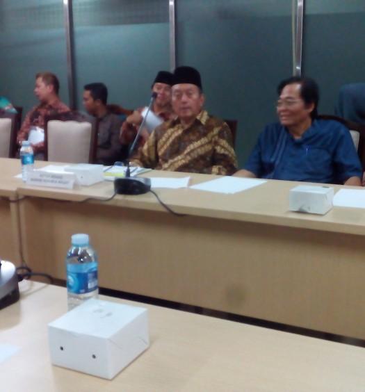 Sumber: www.dmi.or.id  Suasana Rapat Pleno PP DMI di Masjid Istiqlal, Jakarta, pada Jumat (12/8).