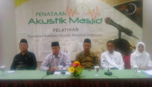 Mujahid Muda dan Operator-Kru-Petugas Penataan Akustik Masjid