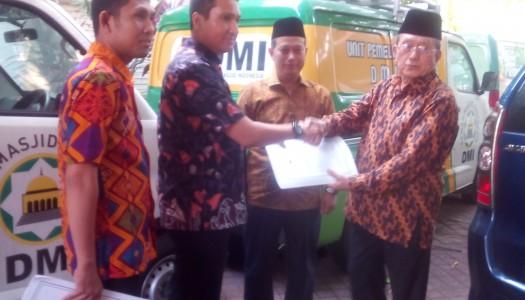 DMI Serahkan Dua Mobil Akustik Ke Masyarakat Aceh