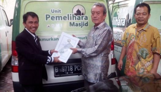DMI Serahkan Satu Mobil Akustik Kepada Pemkab Gorontalo