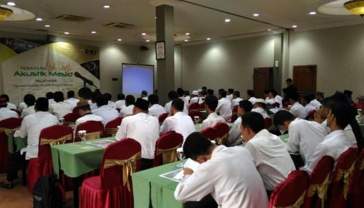 Saksikan Video Pelatihan Akustik Masjid DMI Kesepuluh