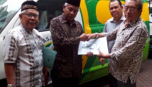 DMI Lampung Tengah Terima Satu Mobil Akustik Masjid