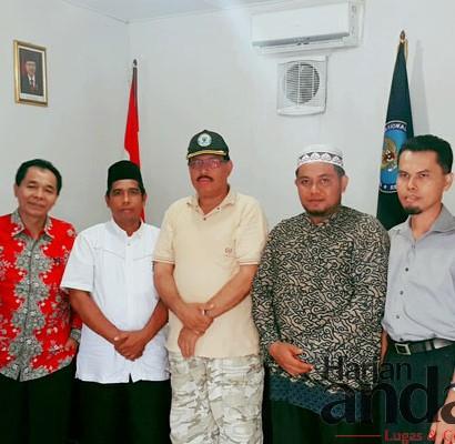 Sumber: http://harianandalas.com/  Kunjungan DMI Kota Binjai ke Kantor BNNK Binjai, Jumat (16/9).