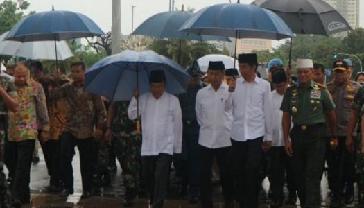 Wapres Jusuf Kalla Ikuti Sholat Jumat 2/12 di Monas