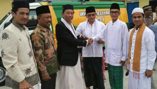 DMI OKU Timur Terima Satu Mobil Akustik Masjid