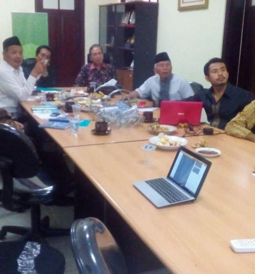 Suasana Rapat Pleno PP DMI pada Jumat (27/1) sore di Sekretariat PP DMI, Jakarta.  Sumber: DMI.OR.ID