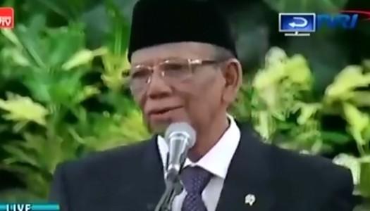 Video: Ceramah Terakhir Kyai Hasyim Muzadi di Istana Negara