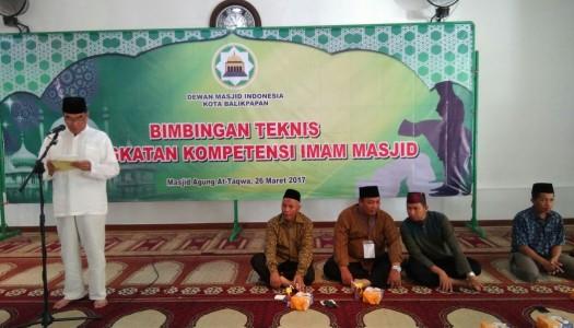 DMI Balikpapan Selenggarakan Bimtek Peningkatan Kompetensi Imam Masjid