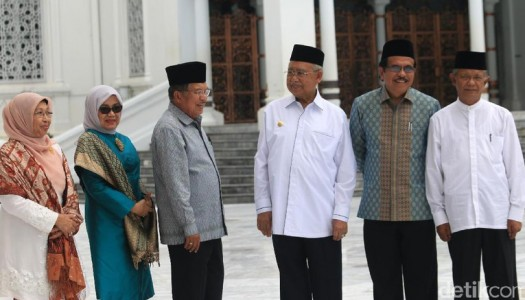 Wapres Kalla: Masjid Raya Baiturrahman, Lambang Peradaban Masyarakat Aceh